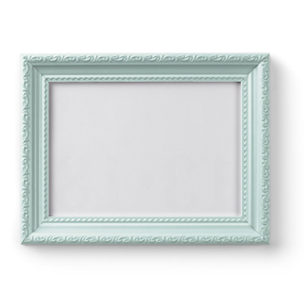 Retro Frame - Light Blue